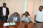 Signing Ceremony of Incubation Projects at NM-AIST